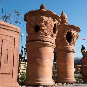 Camini antichi in cotto - Antichi Manufatti