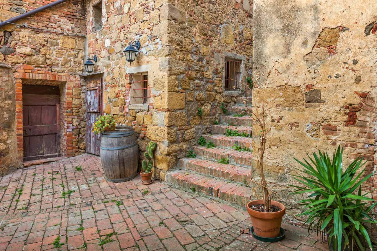 Mattonato da esterno placchetta muretto quarzite x cm - Mattonato per giardino ...
